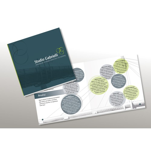 Brochure per Studio di consulenza