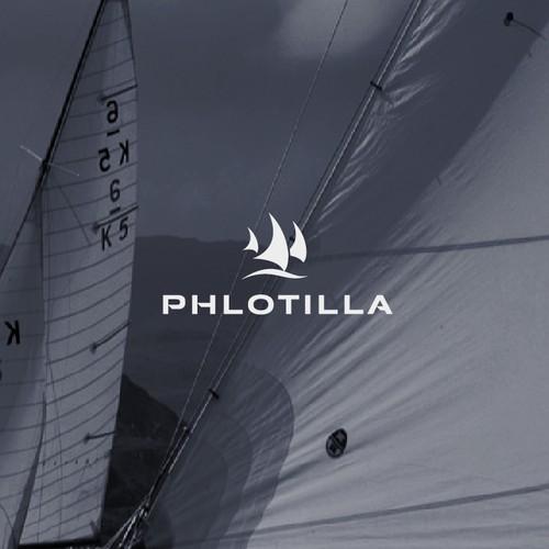 logo concept for sailing app