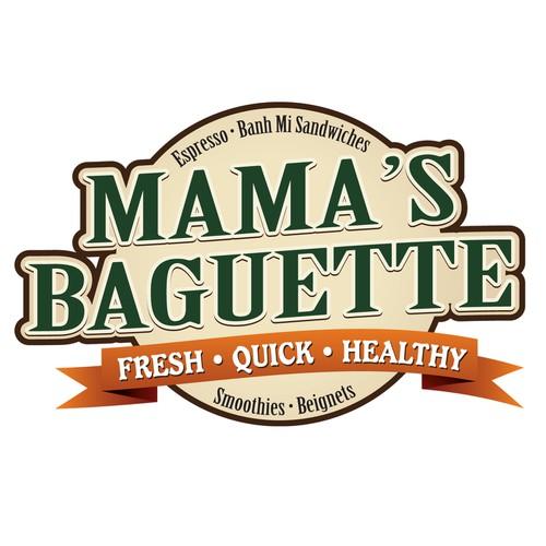 Logo for Mama's Baguette