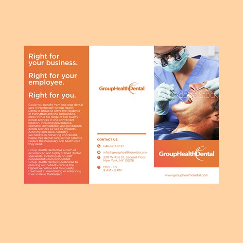 Brochure for Dental Clinic