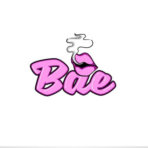 Logo for a vaping store