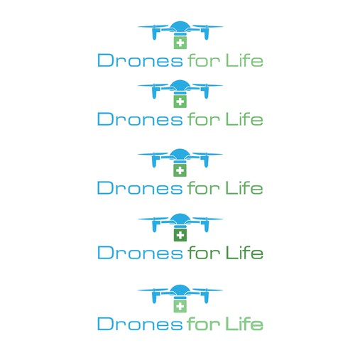 logo for drones for life