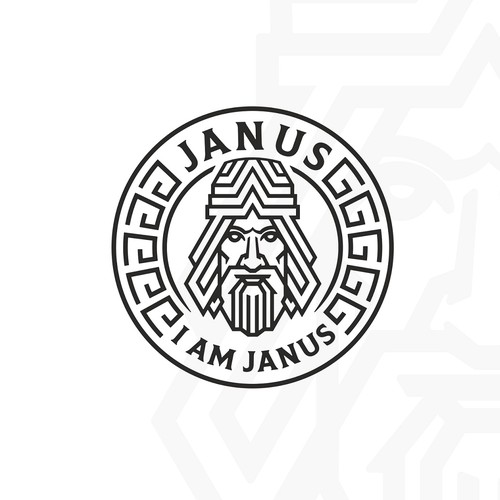 Logo Design - I Am Janus - Electronic Dance Music