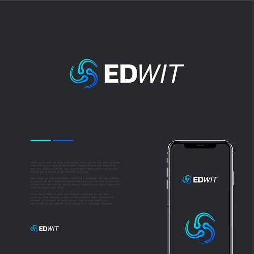 Conceito de logo para EDWIT