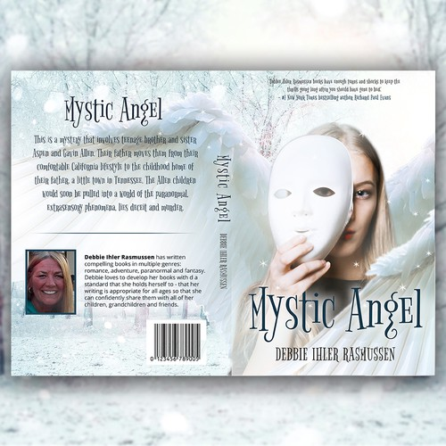 Mystery thriller book concept for Mystic Angel