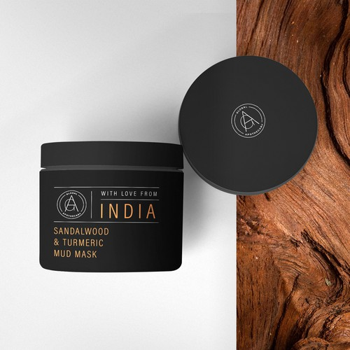 Skincare Product Label Design
