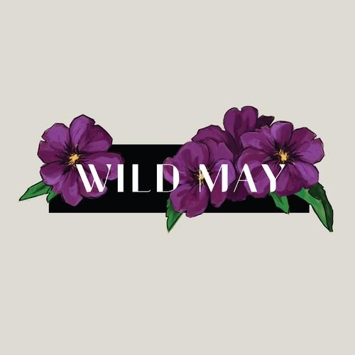 Modern logo concept for florist.
