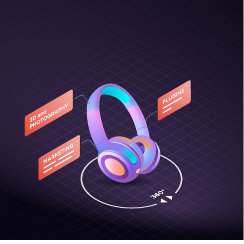 isometric headphone