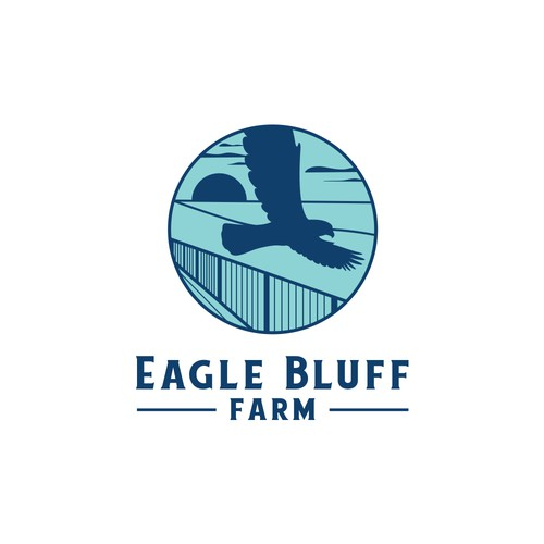 Eagle Bluff Farm Sample Logo