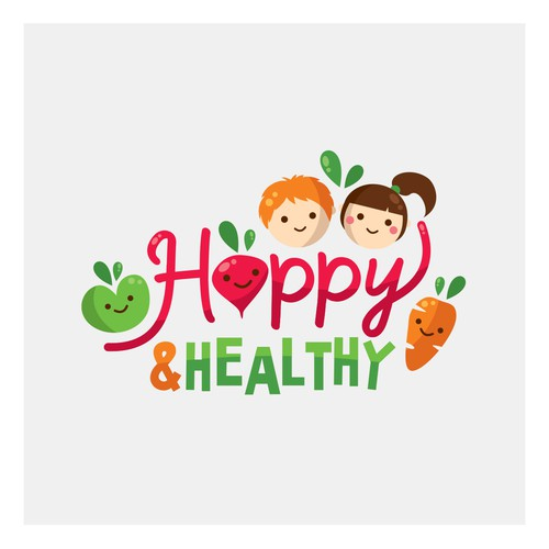 Cute healthy logo :)