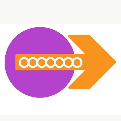 bold logo concept for THE NODE