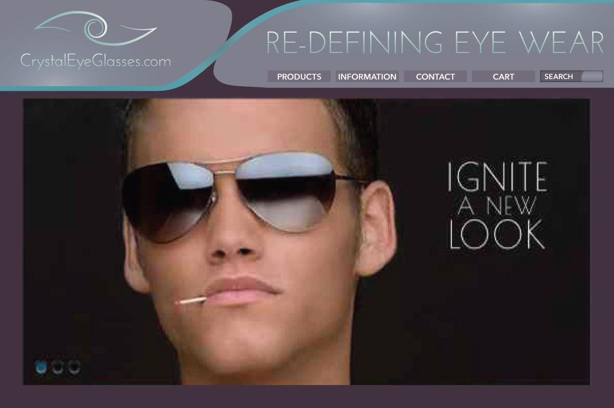 Help CrystalEyeGlasses.com with our inaugural logo