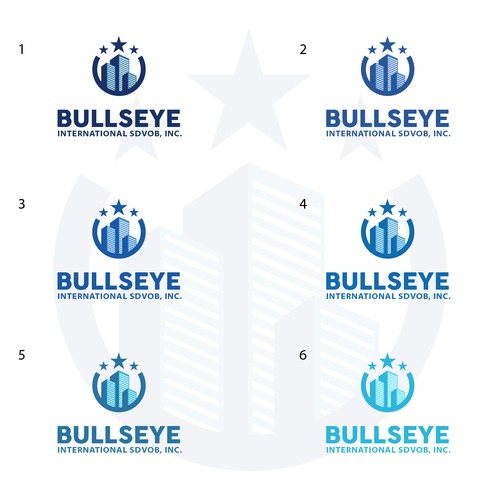 Strong logo for Bullseye without bullseye