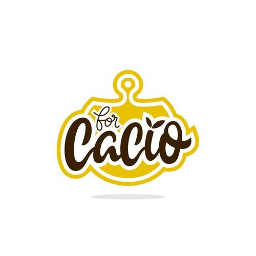 For cacio logo concept