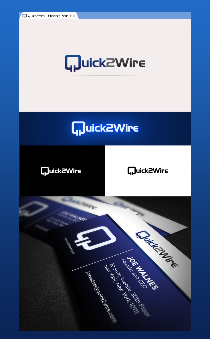 Quick2Wire logo: Open-source electronics for the Raspberry Pi