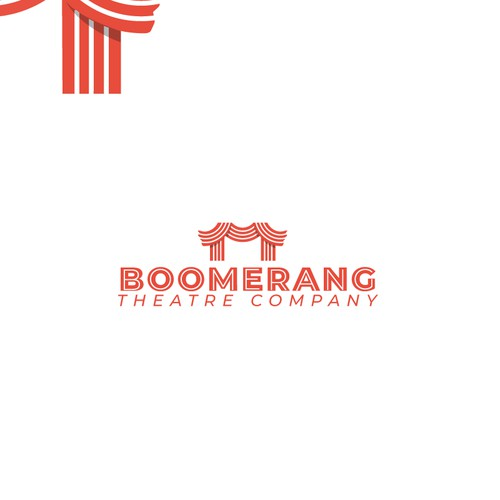 Logo concept for a cinema company