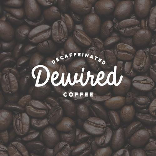 dewired coffee - logo design (please no coffee mugs!)