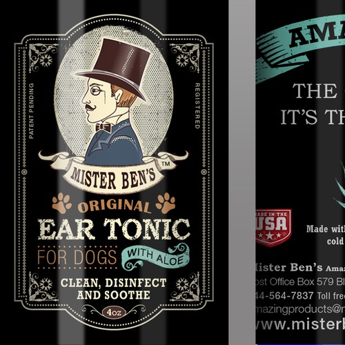 Ear Tonic for dogs