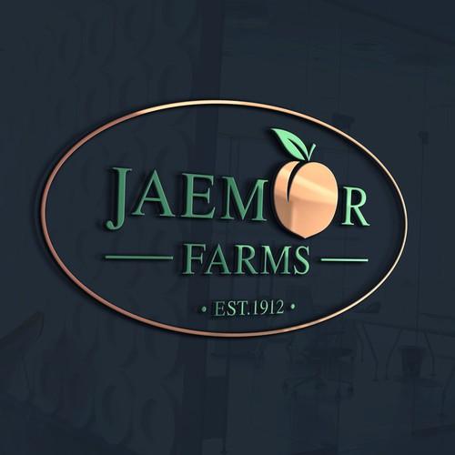 FRESH take on a logo design for Georgia peach farm needed