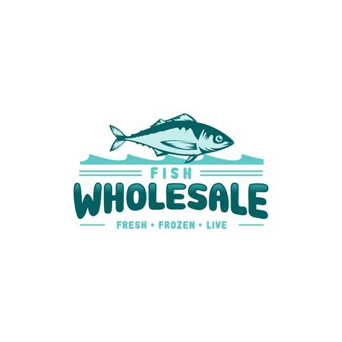 Fish Wholesale Logo Design