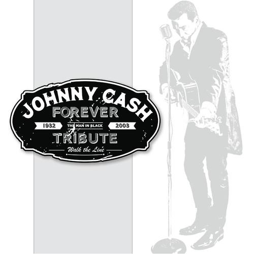 Johnny Cash Tribute Design