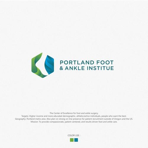 modern orthopedic logo brand identity pack