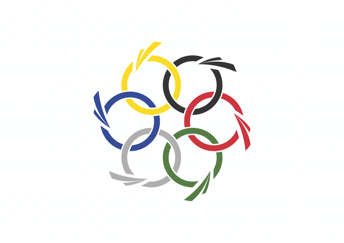 More dynamic design for future Olympic flag