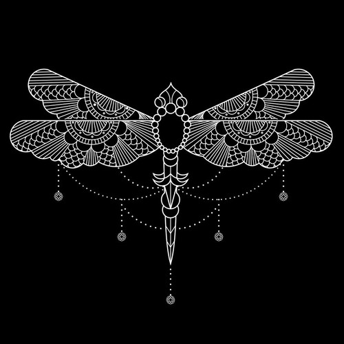 Dragonfly Line illustration