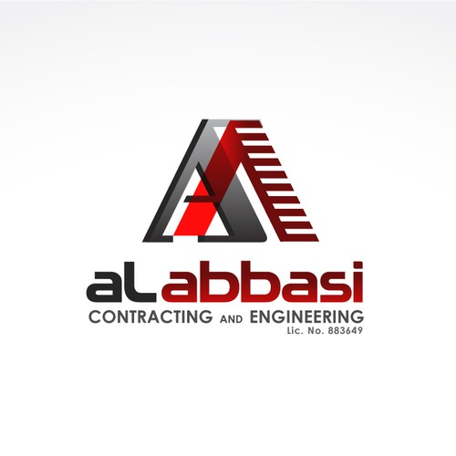 Help AlAbbasi with a new logo and business card