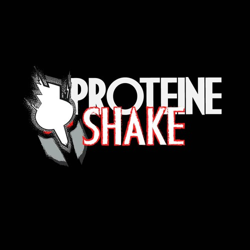 logo concept for protein drink