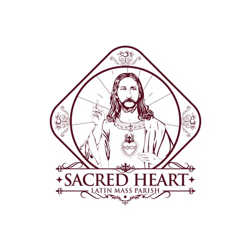 Logo Design Sacred Heart