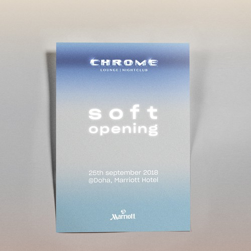 Chrome SOFT Opening #1