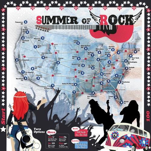 Summer of Rosck