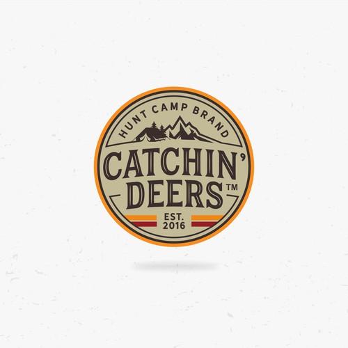 Catchin' Deers Logo Design