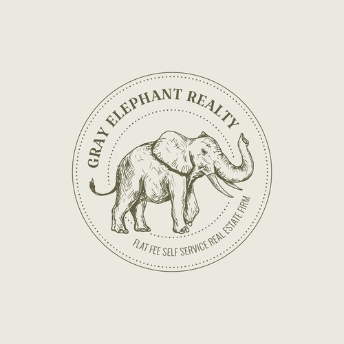 Classic Elephant Logo Concept