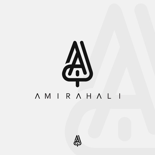 Logo proposal for musician AmirahAli
