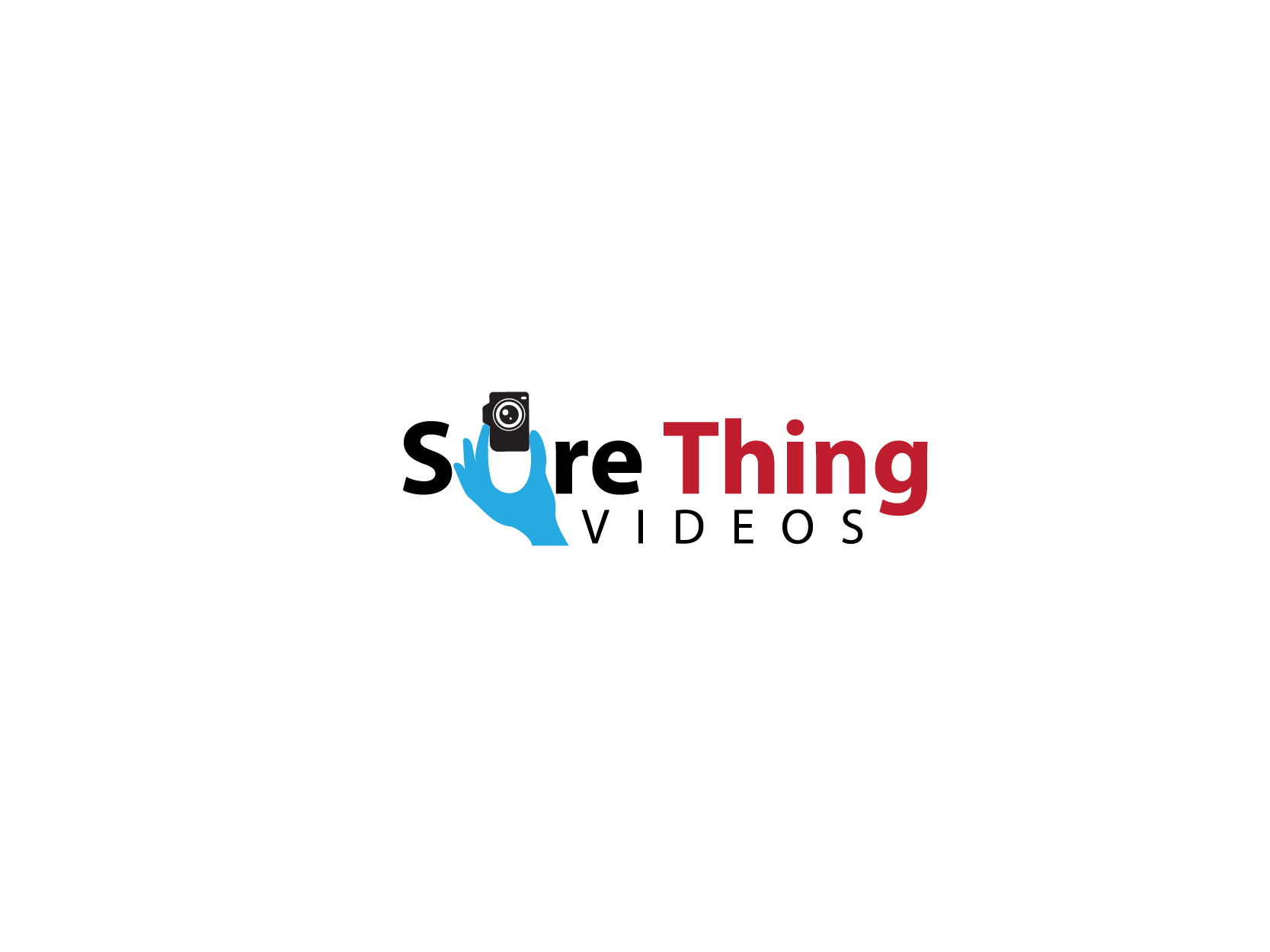 Create a unique, captivating logo for Sure Thing Videos!