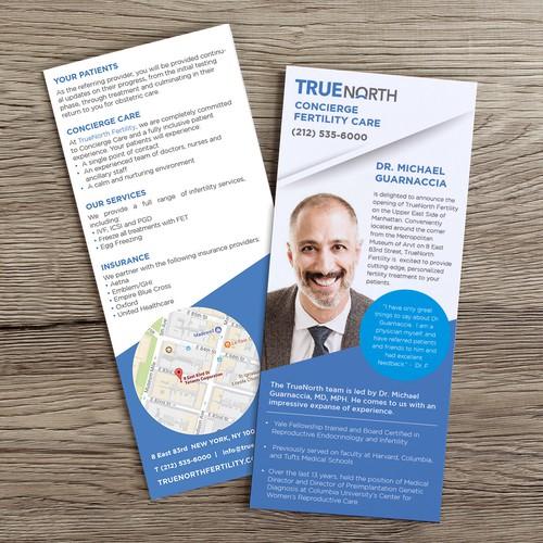 Flyer design for TrueNorth