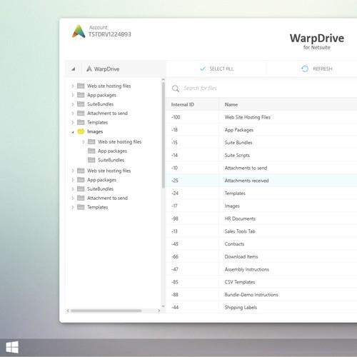 WIndows applicartion UI design