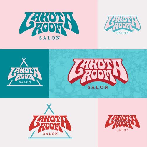Logo concept for Lakota Room Salon