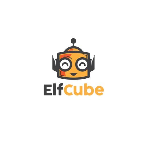 Bold, Fun logo concept for children IT company