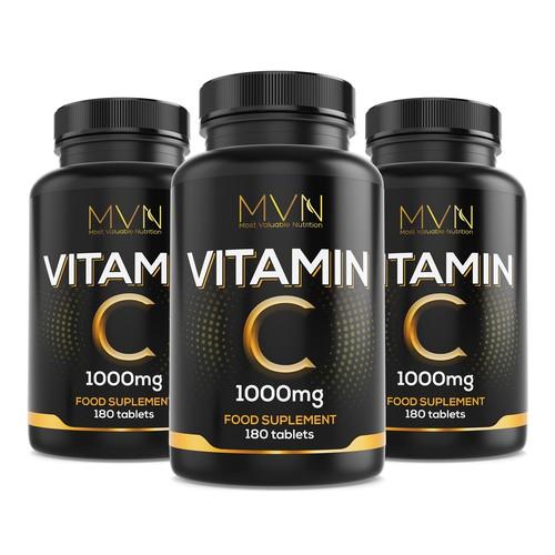 Concept design for vitamin c product