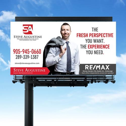Billboard for Luxury realtor