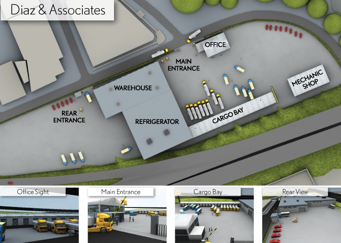 Create the next illustration for Diaz & Associates