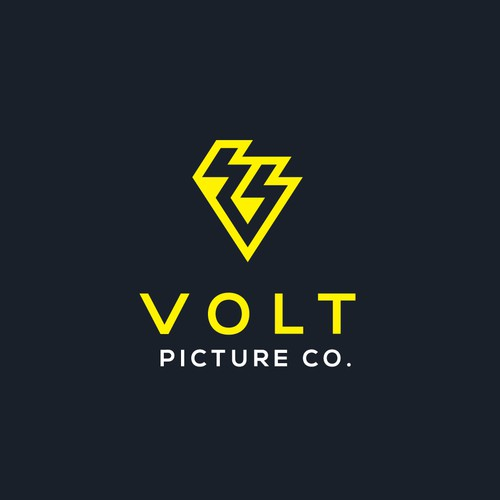 Edgy and Modern Logo for Television Production Company