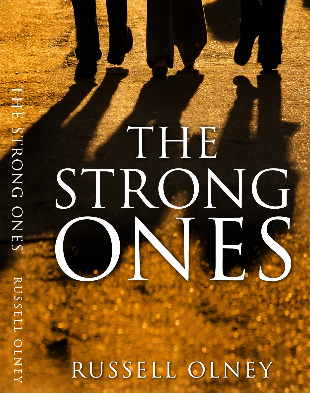 Design a book cover for The Strong Ones