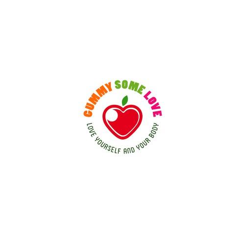 "Logo for ""Healthy"" Fruit Gummies"