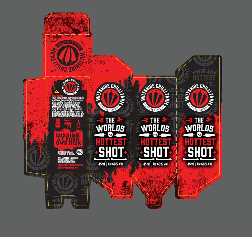 Design a box for the Worlds Hottest Shot!