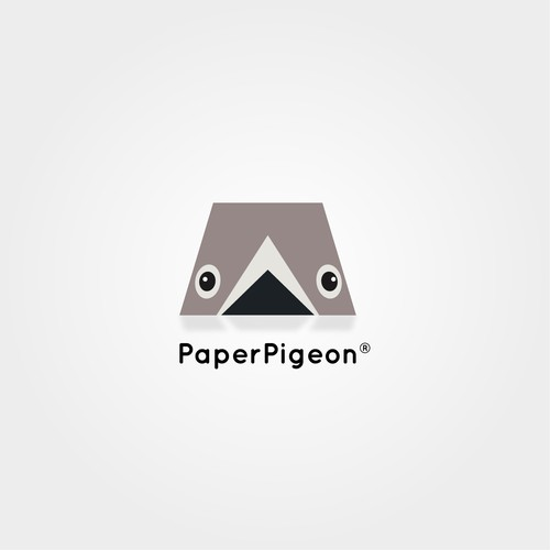 Create a winning logo for paper pigeon