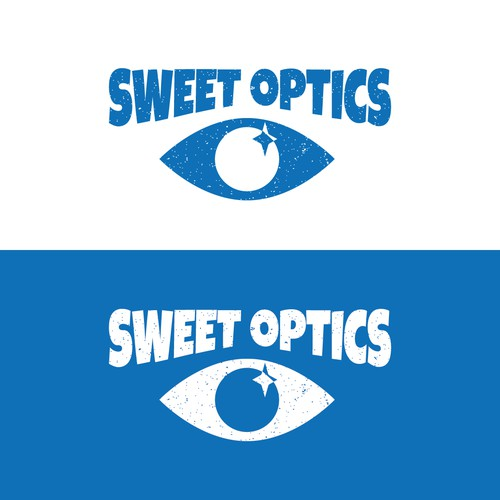 Logo for an optics for kids